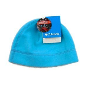NEW Columbia Omni Heat Hat NWT Blue Youth
